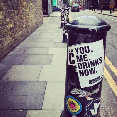 You, me - drinks now 😏 #vibes #shoreditch #happy #postivevibes #cool #instacool #fashion #instadaily #instafashion #instastyle #together #beyonce #freedom #coldplay