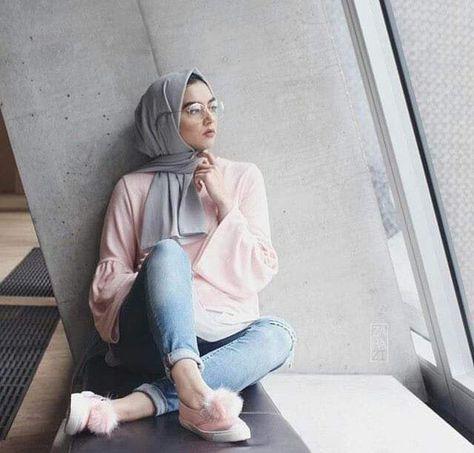 أزياء الفاشونيستا للمحجبات , ملابس ع الموضه للمحجبات 2021 801838e38f67acb6d451