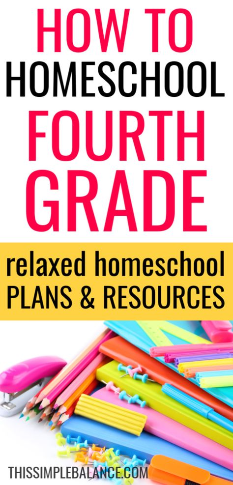 Homeschool Grade: relaxed homeschooling plans and resources to give you ideas as you make plans for your own homeschool year! Curriculum Planning, Homeschool Curriculum, Homeschooling, Third Grade Writing, 4th Grade Reading, Minimalist Homeschool, Fourth Grade, Common Core Reading, Writing Lessons