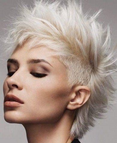Kurzhaarfrisuren 7 Frisuren Stil Haar Kurze Und Lange Frisuren Punk Hair Hair Icon Hair Styles