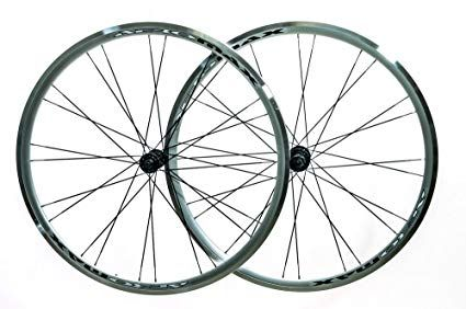 Aeromax 700c Road Comp Silver Road Bike Wheelset Clincher Shimano