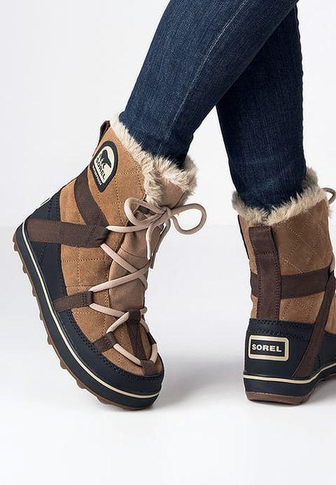 Sorel Glacy Explorer Shortie Botki Sznurowane Elk Za 539 Zl 12 11 16 Zamow Bezplatnie Na Zalando Pl Boots Short Winter Boots Sorel Wedge Boots