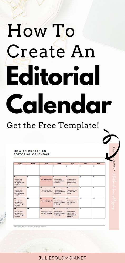 Social Media Editorial Calendar Template + How to Create — Host of The Influencer Podcast, Influencer Marketing and Blog Strategy