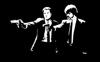 Hd Wallpaper Background Image Id 693715 Pulp Fiction Movie Art Fiction Movies