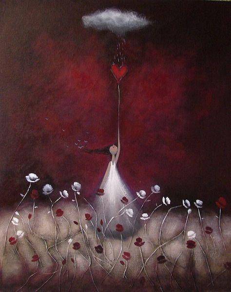 Amanda Cass Art: Love Protects Me
