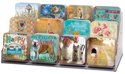 Acrylic Coaster Display Rack Coasters Dublin