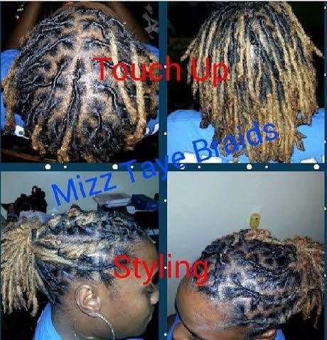 Woman Dread Touch Up Stylist Mz Taye
