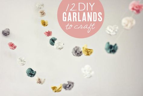 12 awesome DIY garlands from Babble.com