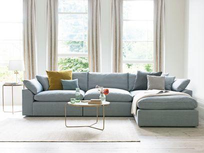 Cuddlein Comfy Modular Chaise Sofa