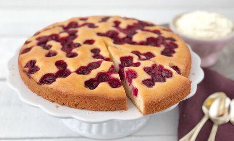 Kirschkuchen Sehr Fein Rezept In 2020 Kirschkuchen Lebensmittel Essen Und Kuchen