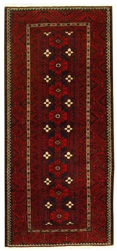 245x111 cm Tappeto Rosso Persian beluci - Farah 1970 Outlet ...