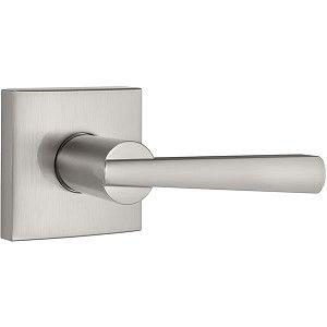 Touchpoint Bella Lever Door Handle On Rose Door Kit Polished Chrome Door Handles Lever Door Handles Door Kits