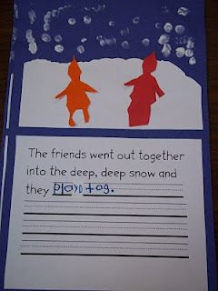Mrs. Wood's Dual Language Kindergarten Class: The Snowy Day