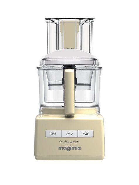 Magimix Cuisine Systeme 4200xl Blendermix Food Processor Cream In 2019 Food Processor Recipes Food Baby Food Recipes
