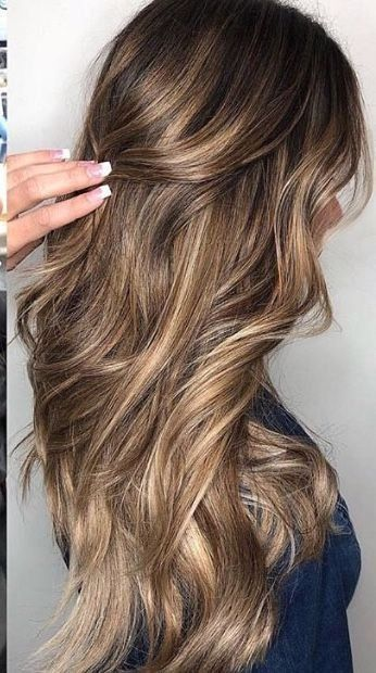 Hairstyle Ideas For Christmas Party Hairstyle Ideas Pinterest Short Hairstyle 1000 In 2020 Hair Color Balayage Baylage Hair Brown Hair With Blonde Highlights