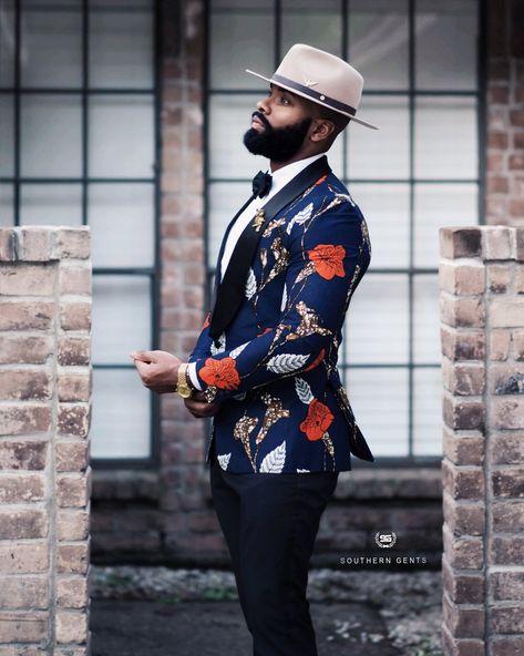 SG Folarin Tuxedo Blazer – (Fuh-lah-reen) - Southern Gents Source by seandjordan men Blazer Outfits Men, Stylish Mens Outfits, Gentleman Mode, Gentleman Style, Sharp Dressed Man, Well Dressed Men, Designer Suits For Men, African Men Fashion, Mens Fashion Suits