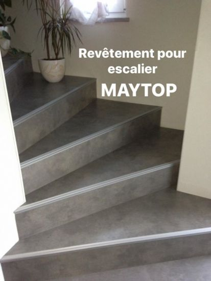 Maytop Tiptop Habitat Habillage D Escalier Renovation D