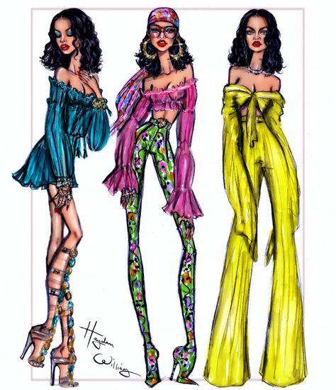 Rihanna art by hayden williams