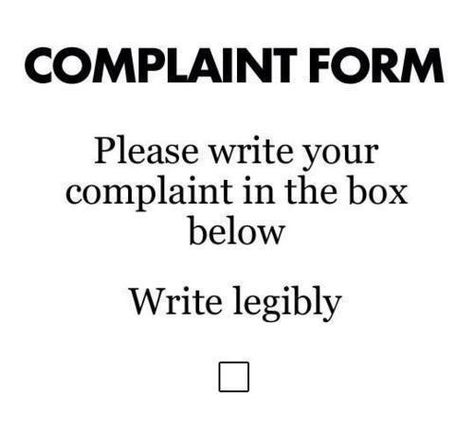 Write legibly ☐ Funnies Pinterest Humor, Stuffing and Laughter - sample civil complaint form