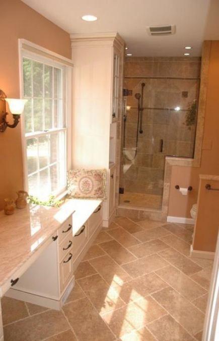 55 Ideas Bathroom Floor Tile Tan Benjamin Moore Bathroom Benjamin Floor Ideas Moore In 2020 Guest Bathroom Remodel Bathroom Remodel Cost Budget Bathroom Remodel