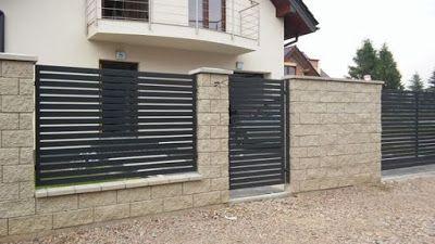 Modern Home Exterior Fence Design Ideas 2019 Fence Design Modern Fence Design House Main Gates Design