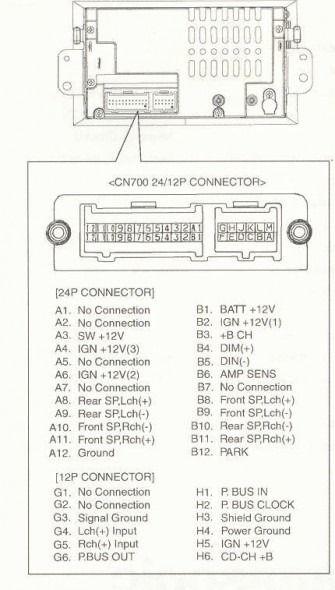 delphi radio wiring diagram  radio electrical wiring