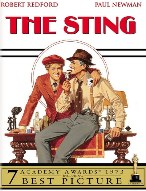 The Sting, starring Robert Redford & Paul Newman: About the classic movie, plus vintage interviews