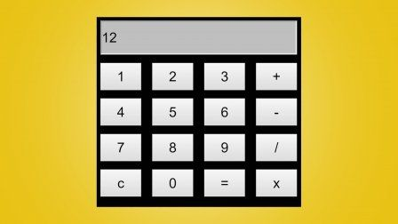 Javascript Calculator Build A Calculator Using Html Css And Javascript Sponsored Simple Calculator Calculator Design Javascript