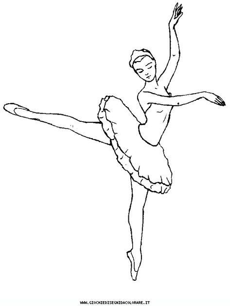 Disegno Da Colorare Ballerina.Balletto 16 Disegni Da Colorare Disegni Da Colorare Pagine Da