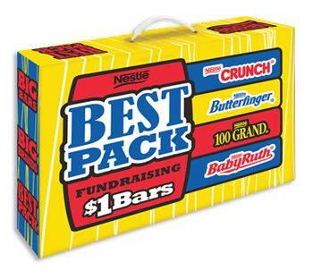 Nestle Best Pack Candy Bar Fundraising Kit Candy Fundraiser Chocolate Fundraiser Fundraiser Help