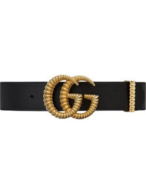 Leather Belt With Torchon Double G Buckle Gucci Leather Belt Gucci Leather Gucci