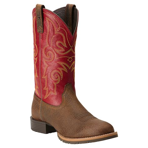 Ariat Women's Hybrid Rancher Round Toe Western Boots   Shoes