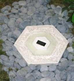 Solar Ed Lighted Stepping Stone