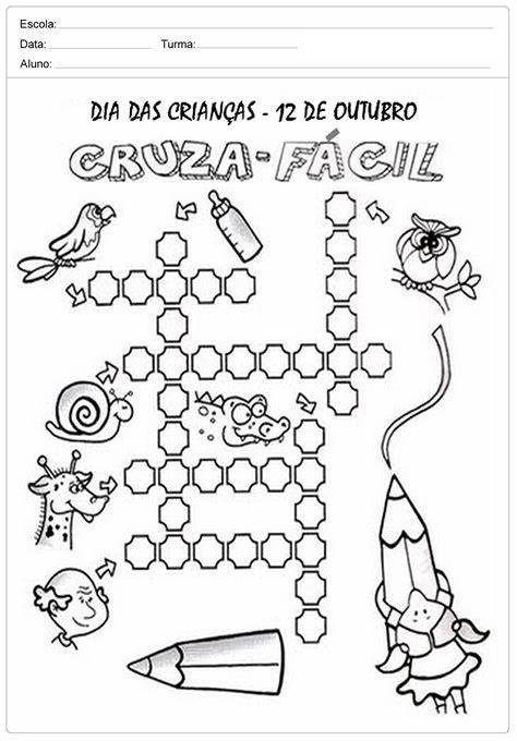 80 Atividades Dia Das Criancas Para Imprimir Educacao Infantil E