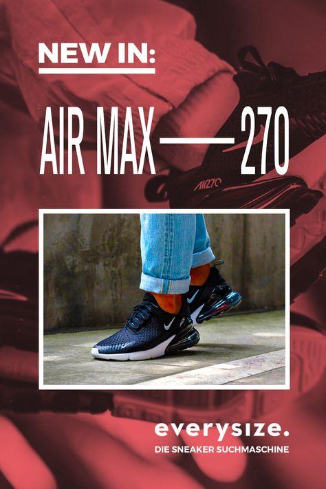Nike Air Max 270 In Schwarz Ah8050 002 In 2020 Nike Air Max Nike Air Und Nike