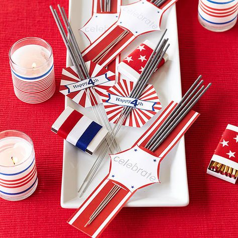 Party Favor: 4th of July Sparklers