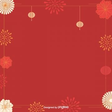 Vector New Year New Year Red Lanterns Chinese New Year Red Lantern Lantern Png And Vector With Transparent Background For Free Download New Year Background Images Red Background New Years Background