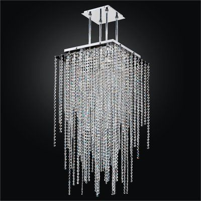 Everly Quinn Cohen Arazi 5 Light Unique Statement Geometric Chandelier Geometric Chandelier Modern Chandelier Foyer Art Deco Lamps