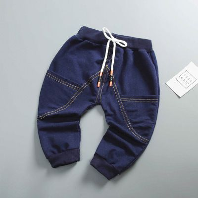 Toddler Kids Baby Girl Child Boy Clothes Denim Boys Long Jeans Trousers Pants