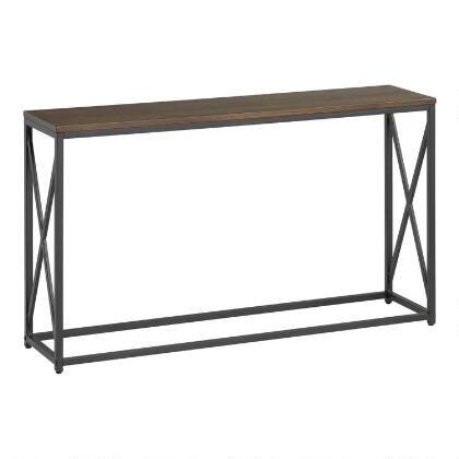 Everett Foyer Table World Market In 2020 Farmhouse Console Table Console Table Foyer Table