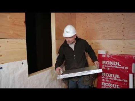 How To Install Insulated Sheathing Around Windows Part 1 Youtube Sheathing Insulated Installation
