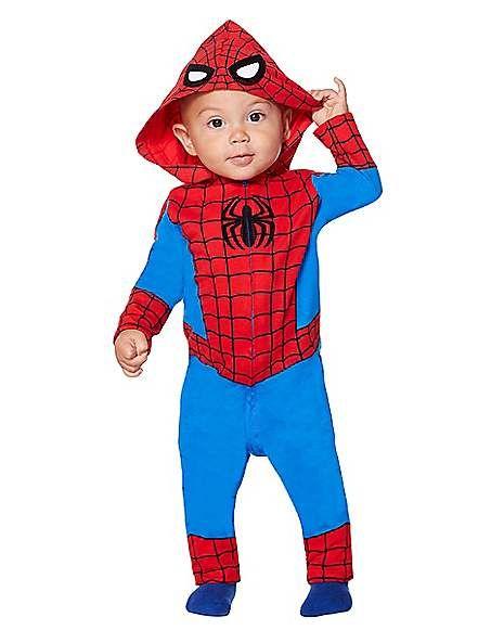Coveralls Halloween 2020 Toddler Spider Man Coveralls   Marvel   Spirithalloween.in