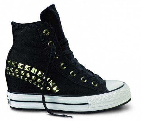 nuova versione negozio di sconto qualità superiore Collezione Converse alte platform FOTO #converse #sneakers #scarpe ...