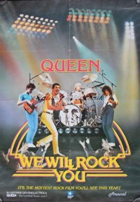Rock You: Queen Live in Concert, Original Vintage Film Poster Foto Poster, Poster S, Poster Wall, Poster Prints, Life Poster, Typography Poster, Bedroom Wall Collage, Photo Wall Collage, Concert Rock