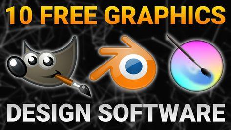 Top 10 Best Free Graphics Design Software 2019 Logo Design Software Free Photo Editing Software Online Web Design