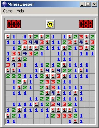Microsoft Windows Minesweeper | Games | Childhood memories, 90s