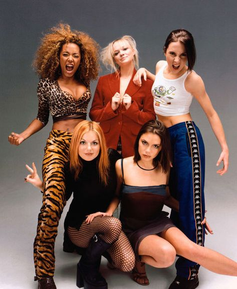 Spice Girls!  Spice Girls made the 90s more enjoyable.