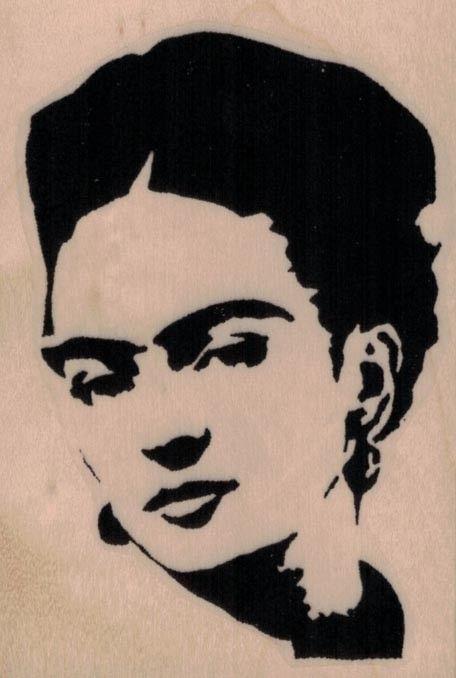 Banksy Frida Kahlo 2 1/2 x 3 1/2