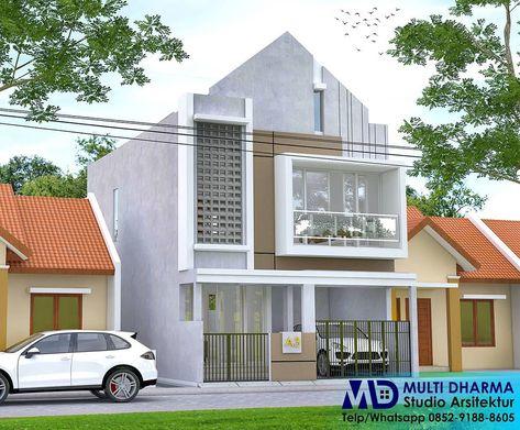 renovasi rumah tinggal 2 lantai dikawasan perumahan. 3