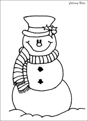 Snowman Coloring Page For Preschoolers Printable Snowman Coloring Pages Cool Coloring Pages Coloring Pages